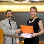 Associate Professor Robert Wickesberg, Elizabeth Grogan: Distinction in Psychology