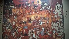 Fight Between Carnival and Lent (P. Bruegel), EDUCA, 4000 (Fabrofer) Tags: puzzle carnival lent bruegel 4000 educa