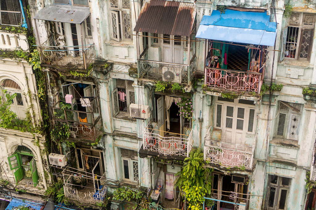 The world 39 s best photos of home and slum flickr hive mind for Modern house yangon