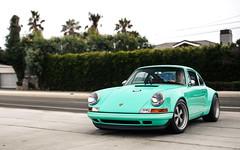 Minty. (Alex Penfold) Tags: porsche 911 singer mint green supercars supercar super car cars classics autos alex penfold 2016 malibu california usa america