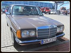 Mercedes-Benz W123 (v8dub) Tags: auto old classic car germany deutschland mercedes benz automobile w 123 automotive voiture german oldtimer oldcar allemagne bremerhaven collector niedersachsen youngtimer wagen pkw klassik worldcars