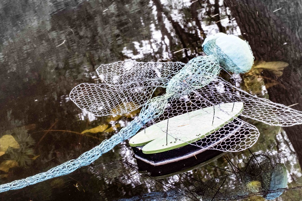 DRAGONFLY BY ANNE McGILL [SCULPTURE IN CONTEXT 2015]REF--10805359