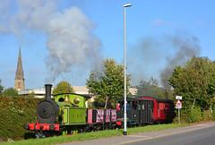 Clear Road (Feversham Media) Tags: yorkshire leeds westyorkshire 1310 middleton northeasternrailway steamlocomotives preservedrailways hunslet middletonrailway heritagerailways southleeds balmroadbranch bezastreet