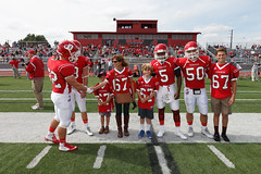 Remembering Maz (Dickinson Donor Relations & Special Events) Tags: football homecoming 20150926 mazurekkids