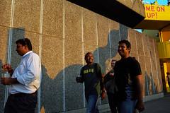 . (www.piotrowskipawel.pl) Tags: light shadow england people london 35mm unitedkingdom streetphotography southbank portra filmphotography colorstreetphotography kodakphoto pawepiotrowski piotrowskipawelpl
