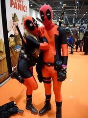 """MCM ComicCon 2015 - 56 (Terterian - A million+ views, thanks.) Tags: city uk costumes england orange anime male london mystery female outfit october comic boots cosplay centre capital manga culture fantasy convention superhero gathering sword gb horror docklands characters 24 samurai fans tight popular comiccon crowds con excel mem fanzine newham 2015 """"dressing up"""" """"fancy dress"""""""