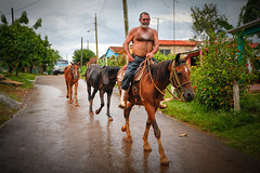 Horseman (Lil [Kristen Elsby]) Tags: travel horses cowboy topv1111 cuba editorial dailylife cuban vinales horseman travelphotography vinalesvalley valledevinales canon5dmarkii