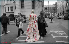 `1530 (roll the dice) Tags: uk wedding portrait england people urban blackandwhite blur sexy london art classic halloween girl westminster fashion strand canon dead death groom bride blood funny pretty sad dress shot zombie candid attack ripped strangers streetphotography makeup police marriage pop parade spooky unknown undead wisdom scared mad sar limbo unaware selective wc2 londonist georgeromero horro