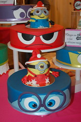 Cake Design (ce.gherardi1) Tags: italy cake design chocolate sweetness cartoons insideout minions chocolatefestival italianchocolate