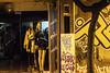 The line 2. (df-stop.) Tags: street urban reflection tree shop night canon closed dummies grafitti legs display rich poor greece thessaloniki split drainpipe timeless halved theline makedonia μακεδονια macedoniagreece eurocrisis dfstop