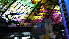 P1040016 (Nog-Z) Tags: 台湾 高雄 カオシュン 地下鉄 駅 taiwan kaohsiung subwaystation 美麗島駅 ステンドグラス formosaboulevardstation stainedglass