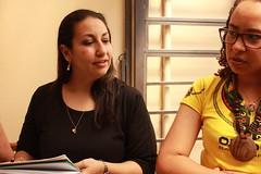 Patrícia e Paula (fb.com/projetogirassolpoa) Tags: projetogirassol lardaamizade idosos cegos caridade gratidão voluntariado pedidosdenatal trabalhovoluntário
