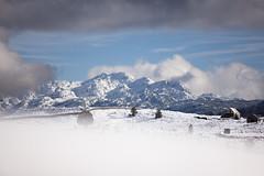 Frame (Besim_Hakramaj) Tags: mountains korita montenegro snow clouds