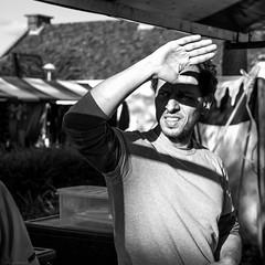 Can't stand the light (Harry -[ The Travel ]- Marmot) Tags: holland nederland netherlands dutch hollands nl amsterdam mokum stadsarchief stad city urban stedelijk stads zonneplein tuindorpoostzaan amsterdamnoord noord man mens human sunlight zonlicht blinded verblind allrightsreservedcontactmebyflickrmail zwartwit blackandwhite bw monochroom monochrome schwarzweis hand portret portrait
