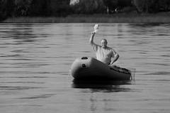 Ahoi (forzarwe) Tags: summer river boot boat fisherman pentax russia sommer fluss kasan volga fischer kazan wolga russland    ahoi tatarstan    k5ii