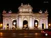 Luces Navideñas 2015. Puerta de Alcalá (Madrid) (Juan Alcor) Tags: madrid luces lucesnavideñas navidad puertadealcala nocturno spain españa