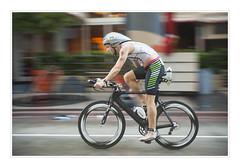 Ironman Competition Miami (fotoJENica) Tags: man bicycle florida miami competition ironman