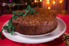 Eggless_rich_fruit_cake-4 logo (anindya0909) Tags: christmas cake eggless richfruitcake
