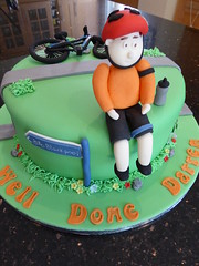 Cycling cake (Victorious_Sponge) Tags: birthday mountain bike cake cycling racing mans mens bo bikeys
