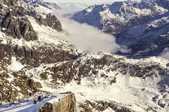 Chli Bielhorn (l@mie) Tags: schnee mountain snow berg rock switzerland chili hiking swiss albert natur landschaft heim wetter uri skitour furka schneetour bielhorn