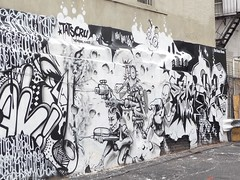 NYC 2015 (bella.m) Tags: nyc usa streetart newyork art graffiti mural manhattan urbanart tatscru themuralkings