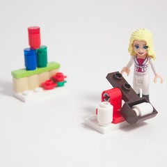 LEGO Friends Advent 2015 Day 22 Target Practice (Bill Ward's Brickpile) Tags: friends advent lego advent2015