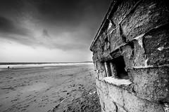 Pill Box (sf<><) Tags: canon eos coast seaside sand rocks box wwii erosion soil ii ww2 usm pill defence pillbox 6d homeguard f28l ef14mm