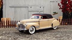 1941 Chevrolet Special De Luxe Convertible (JCarnutz) Tags: chevrolet 1941 diecast 124scale danburymint specialdeluxe