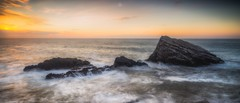 Last Land (Augmented Reality Images (Getty Contributor)) Tags: canon coastline landscape leefilters longexposure morayshire portknockie rocks scotland seascape shittencrag sunset water waves