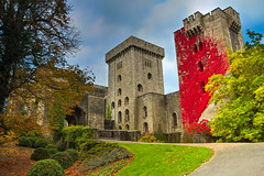 Afternoon delight (Caleb4ever { ON VACATION }) Tags: caleb4ever castle penrhyncastle penrhyn wales uk ivy grass garden foliage towers fort fortress stonework stone landscape building gardens structure listedbuilding medieval victorian historical historicalbuilding welsh