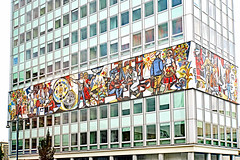 Germany-00191 - Our Life (archer10 (Dennis) 83M Views) Tags: germany berlin building sony a6300 ilce6300 18200mm 1650mm mirrorless free freepicture archer10 dennis jarvis dennisgjarvis dennisjarvis iamcanadian novascotia canada mural ourlife alexanderplatz communist gdr globus tour
