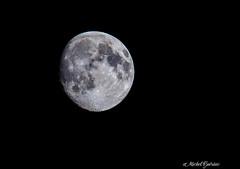 Lune - Moon (MichelGurin) Tags: 2016 august canada exterior lightroomcc lune moon nikkor200500mmf5 nature nikcollection nikon nikon200500mm qc ca aot qubec michelgurin extrieur gasp  parcnationaldeforillon