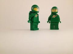 space (Jeka Man) Tags: lego space green mini figure warm