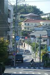 nagoya15972 (tanayan) Tags: urban town cityscape aichi nagoya japan nikon j1 road street alley    slope
