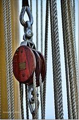 Polea.Pulley (ironde) Tags: jon errazkin ironde 2016 fragata argentina ship barco cdiz cadiz spain espaa nikond7000 mar sea ocean ocano atlntico polea pulley libertad frigate