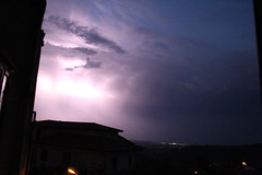 Storm Night (Matahyus) Tags: thunder fulmine storm tempesta pioggia rain clouds nuvole notte elettricità power nature night mbuzati italy light luce