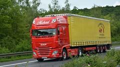 D - Michael DAF XF 106 SSC (BonsaiTruck) Tags: michael daf xf 106 lkw lastzug lastwagen truck trucks lorries lorry camion