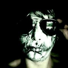 (daniel.thorn) Tags: rawmelbourne rawartists painting scary gothic goth spooky creepy zombie makeup illustrator illustration darkart dark