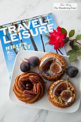 Whole Wheat, Pistachio cakes (thewanderingeater) Tags: californiafigs figs cake dessert