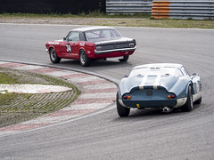 2016 Historic Zandvoort Trophy: Ford Mustang & Marcos 1800 GT (8w6thgear) Tags: 2016 historiczandvoorttrophy zandvoort ford mustang touringcar marcos 1800 gt sportscar nkhtgt audis