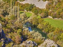 Rijeka Krupa u kanjonu ispod zaseoka Krupa Pirovite (MountMan Photo) Tags: rijekakrupa kanjon zadarskaupanija croatia voda