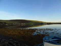 Finstown reflection (stuartcroy) Tags: orkney island reflection finstown firth beautiful bay beach scotland scenery sky sea sony still