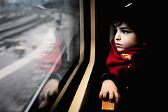 Ryan (Gwenaël Piaser) Tags: ryan reflection window train portrait child enfant red scarf black chiaroscuro 50mm carlzeiss zeiss50mmmakroplanarze makro planar makroplanar50mm carl zeiss zeissmakroplanart250ze carlzeissmakroplanart250 makroplanar macro makroplanar502ze makroplanart250 ze prime hand seat unlimitedphotos gwenaelpiaser canon eos 6d canoneos eos6d canoneos6d fullframe 24x36 reflex rawtherapee gimp luxembourg luxemburg luxemburgo lussemburgo lëtzebuerg 1000