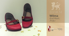 Wilma duckfeet shoes for SaNaRae (>Ale<) Tags: sanarae elysium aleidarhode avatar sl secondlife virtualworld fashion shoe footwear slink belezza maiteeya new newrelease original 3d mesh contentcreator virtualfashion