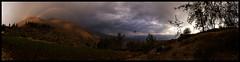 Sunset from Hualcayan (doug k of sky) Tags: hualcayan sunset rainbow cordillera blanca andes peru doug kofsky mountainscapes