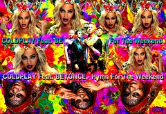 COLDPLAY Feat. BEYONCÉ - Hymn For The Weekend (EDIMIX 2) Tags: beyonce coldplay sexy hot hum woman wallpaper edimix chanteuse chanteur chanson jambes cuisse hymn for the weekend fond écran maquillage multi couleurs