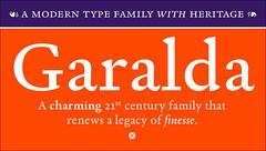Garalda (TypeTogether) Tags: garalda xavierdupré garamond wwwtypetogethercom serif typetogether typeface newrelease 50discount offer