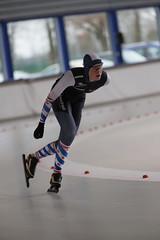 A37W0285 (rieshug 1) Tags: speedskating schaatsen eisschnelllauf skating nkjunioren knsb nkjuniorenallroundafstanden afstanden allround 50010001500massstart demeent alkmaar sportcomplexdemeent juniorenb ladies dames 3000m