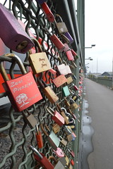 Love Locks on Hohenzollern Bridge (CoasterMadMatt) Tags: kln2016 kln cologne2016 cologne hohenzollernbrcke hohenzollernbridge hohenzollern bridge bridges liebeschlsser liebe schlsser lovelocks love locks stadt city stdte grosstadt cities deutschestdte germancities deutschland germany d october2016 autumn2016 october autumn 2016 coastermadmattphotography coastermadmatt photos photographs nikond3200