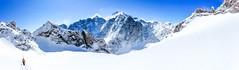 Vue sur le dome des Ecrins (adrien.lecoq) Tags: montagne mountain snow neige touring rando glacier alpinisme alpinism ngc